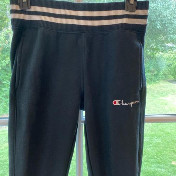 Champion Pants - ‼️CHAMPION Leggings drk navy with stripes: XS‼️